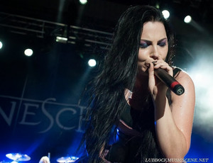 Amy Lee on the সঙ্গীতানুষ্ঠান
