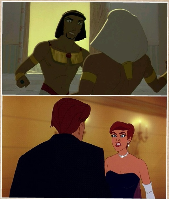 Anastasia Vs The Prince Of Egypt