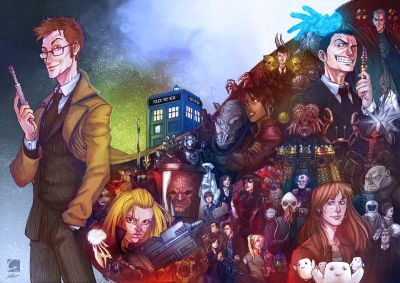 doctor who wallpaper probably containing anime titled anime Doctor Who