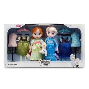 Anna and Elsa Doll Gift Set - Disney Animators' Collection