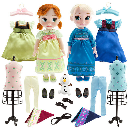 Nữ hoàng băng giá hình nền entitled Anna and Elsa Doll Gift Set - Disney Animators' Collection