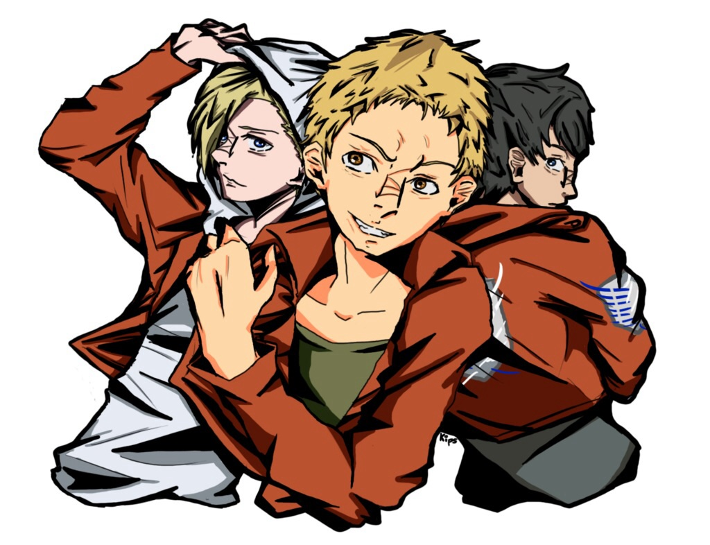 Annie, Reiner, and Bertholdt