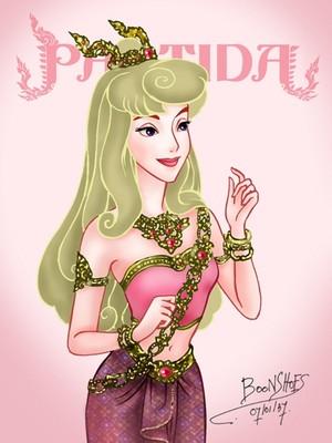 Aurora in Thai Costume