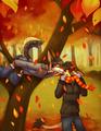 Autumn kisses - alpha-and-omega photo