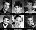 Avengers Actors  in High School - the-avengers photo