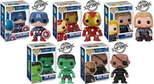 Avengers Pop Toys