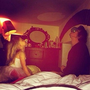 Aww!!! Lux and Harry