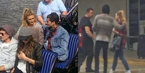 Aww! They share clothes :)