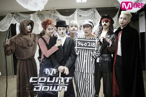 BTS MCountDown Хэллоуин