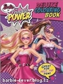 búp bê barbie in Princess Power Deluxe Colouring Book