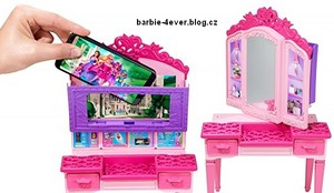 barbie in Princess Power Vanity Playset