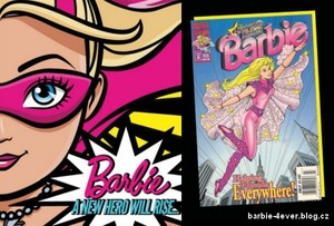 Barbie in Princess Power & Flying Hero Barbie