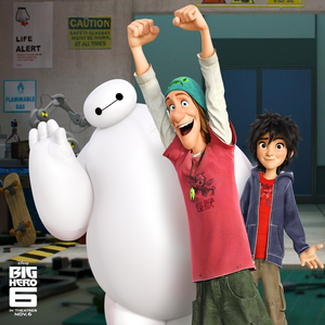 Baymax, Fred and Hiro