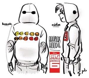 Baymax hoodie design