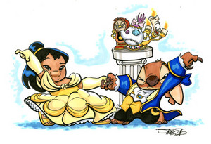 Beauty and Beast/ Lilo and Stitch version