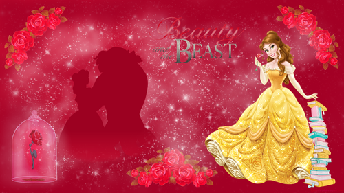 Beauty And The Beast Rose Wallpaper: Disney Princess Images Beauty And The Beast HD Wallpaper