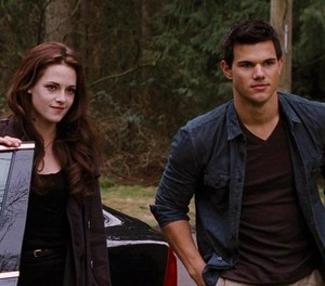 Bella Cullen and Jacob Black