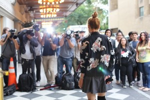 Bella Thorne's NYFW चित्र Diary