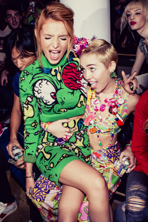 Bella and Miley (x)