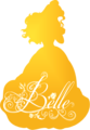 Belle Silhouette - disney-princess photo