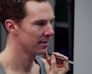 Benedict Cumberbatch - Preparation for Wax Statue