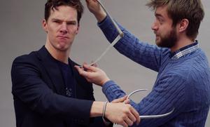 Benedict Cumberbatch - Preparation for Wax Statue