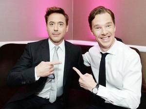 Benedict and Robert ♥