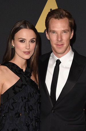 Benedict and Keira at the 6th Annual Governor's Awards