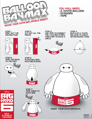 Big Hero 6 Balloon Baymax