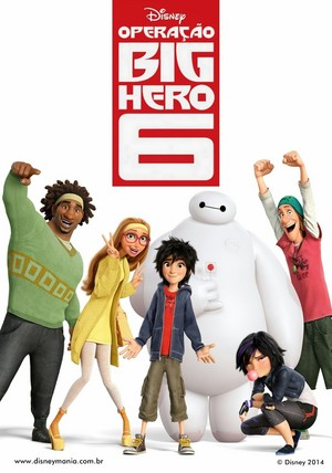 Big Hero 6 Brazilian Poster