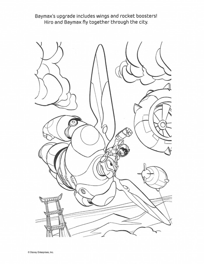 ba max coloring pages - photo #25