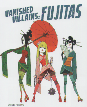 Big Hero 6 Concept Art - Deleted Villains (The Fujitas)