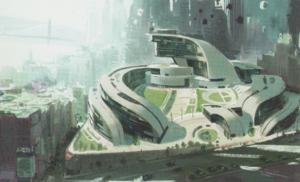 Big Hero 6 Concept Art - Krei Tech Industries