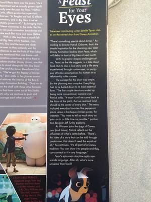 Big Hero 6 디즈니 Newsreel magazine