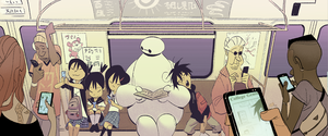 Big Hero 6 - End Credits Concept Art