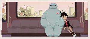 Big Hero 6 - End Credits Concept Art