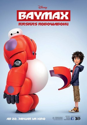 Big Hero 6 German Poster