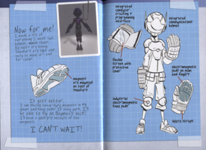 Big Hero 6 Hiro's Journal - Hiro's Super Suit
