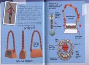 Big Hero 6 Hiro's Journal - Honey's Super Suit