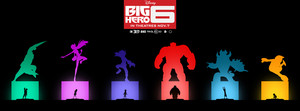 Big Hero 6 Poster door Khoa Ho
