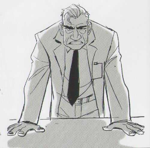 Big Hero 6 - Professor Callaghan Concept Art