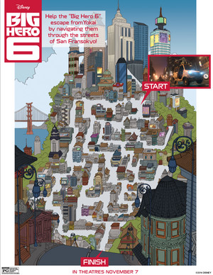 Big Hero 6 - San Fransokyo Maze