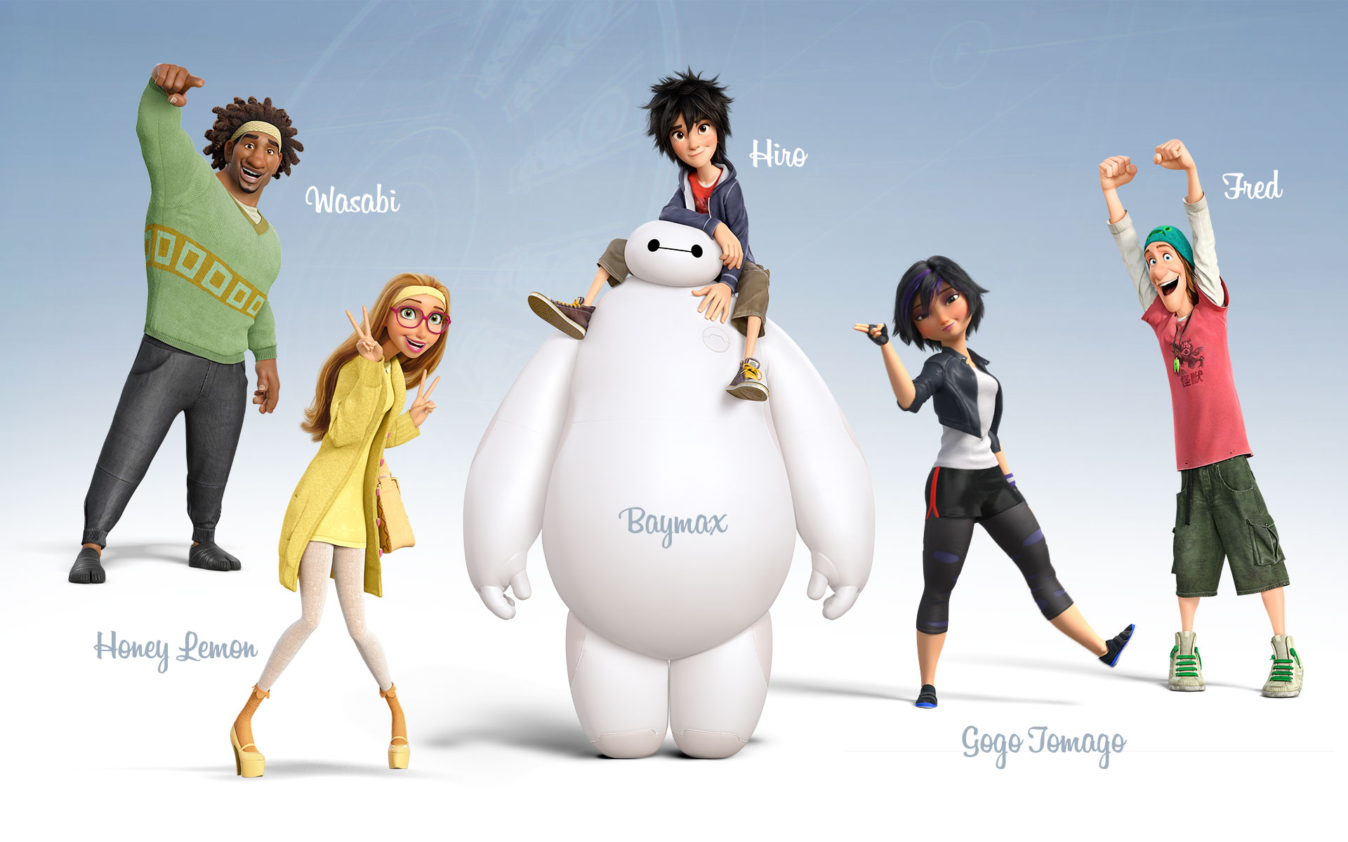 Big Hero 6 wolpeyper