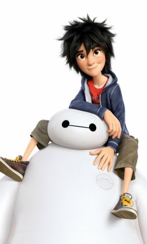 Big Hero 6 Hintergrund titled Big Hero 6 characters - Disney and Manga versions