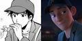 Big Hero 6 characters - disney and manga versions