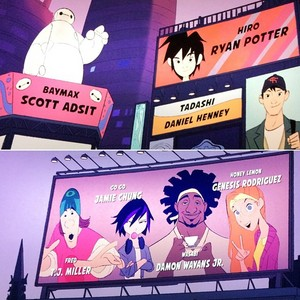 Big Hero 6 end credits