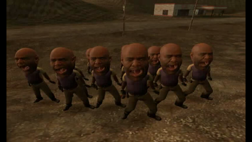 left 4 dead 2 wallpaper containing a green beret entitled Big headed Coaches