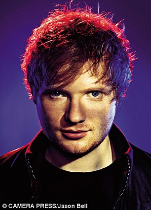 Ed Sheeran wallpaper called Billboard Photoshoot