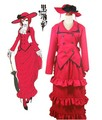 Black Butler Kuroshitsuji Madam Red Cosplay Costume - black-butler photo