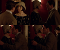 Blake kisses Mary - downton-abbey photo